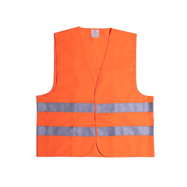 Gilet Réfléchissant Kross - Orange/Bleu / XL