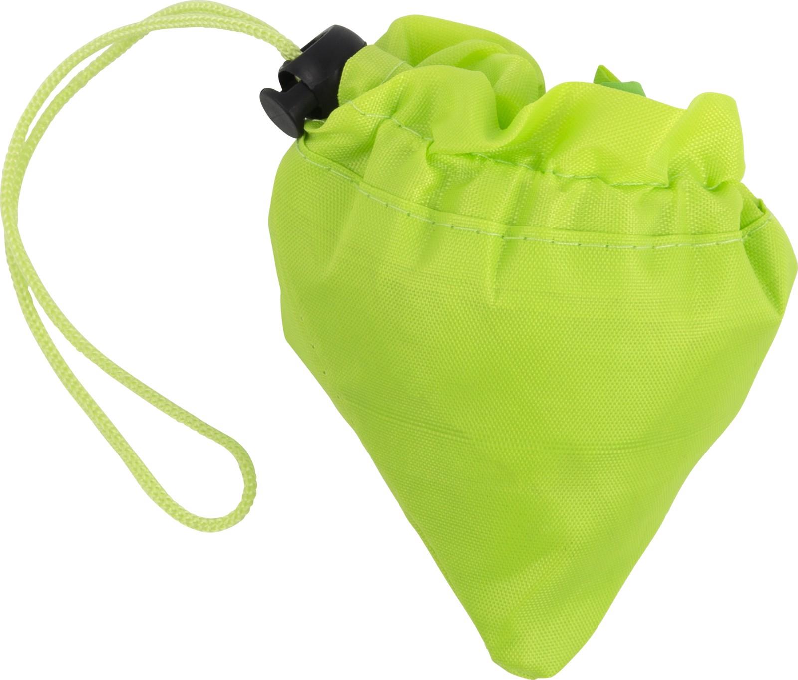 Polyester (210D) shopping bag - Lime