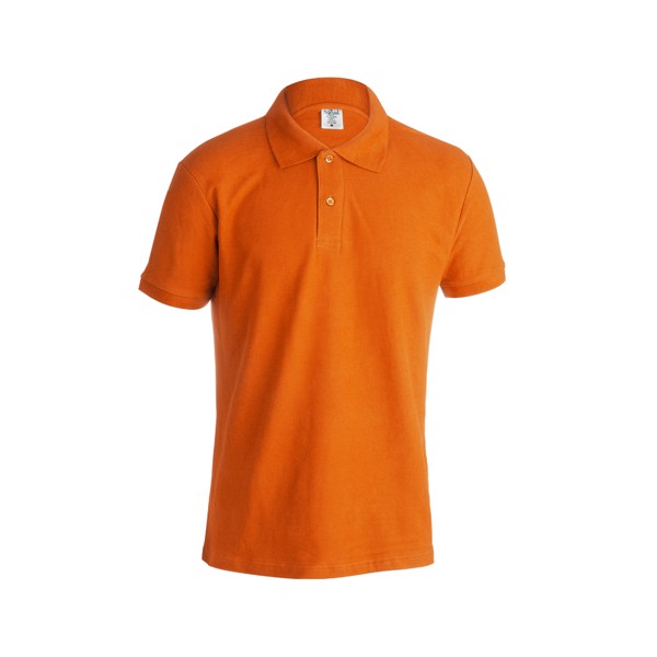 "Polo Adulto Color ""keya"" MPS180 - Naranja / XXL"