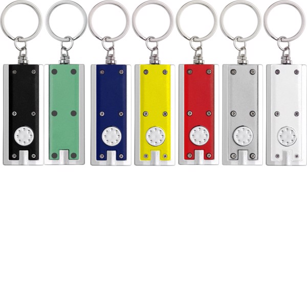 ABS key holder with LED - Blue