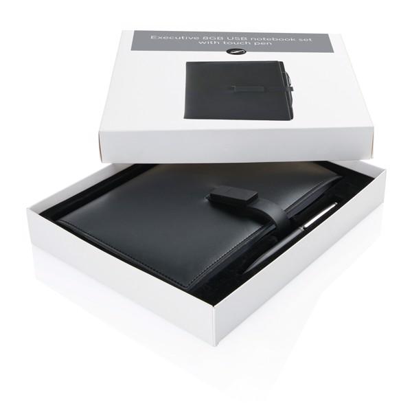 Exkluzivní poznámkový blok s 8GB USB a dotykovým perem
