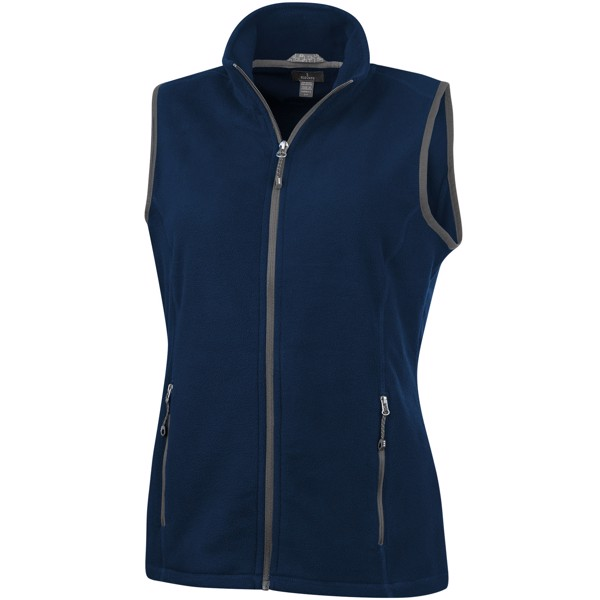 Tyndall micro fleece ladies Bodywarmer - Navy / L