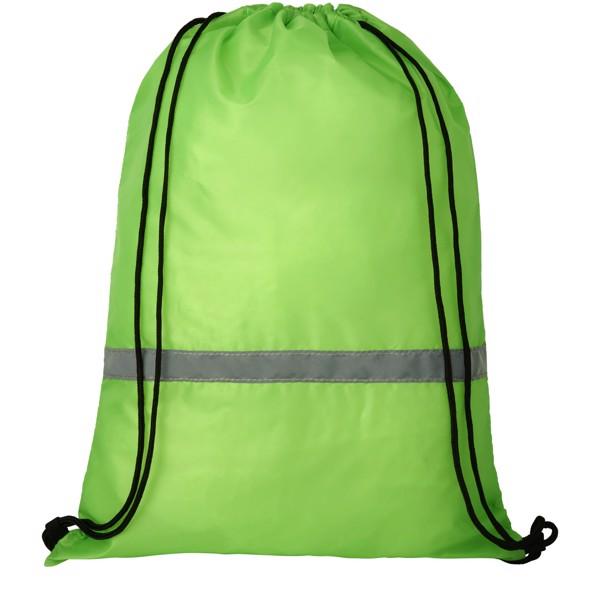 Oriole bezpečnostní šňůrkový batoh - Limetka