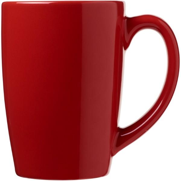 Medellin 350 ml ceramic mug - Red