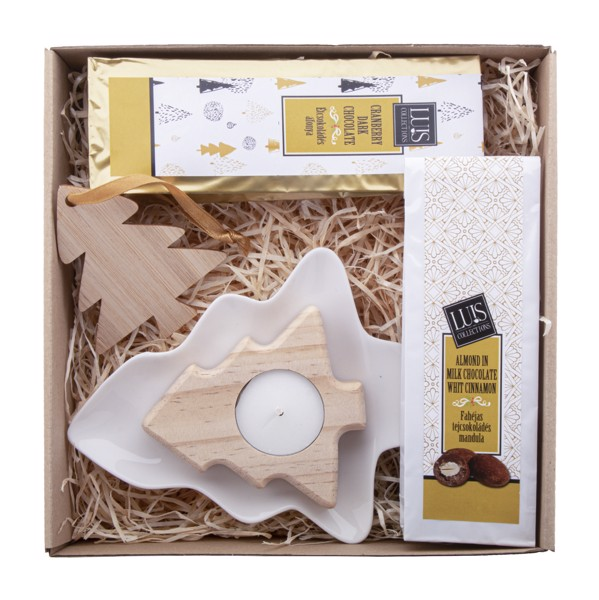Chocolate Gift Set Kerti - Natural