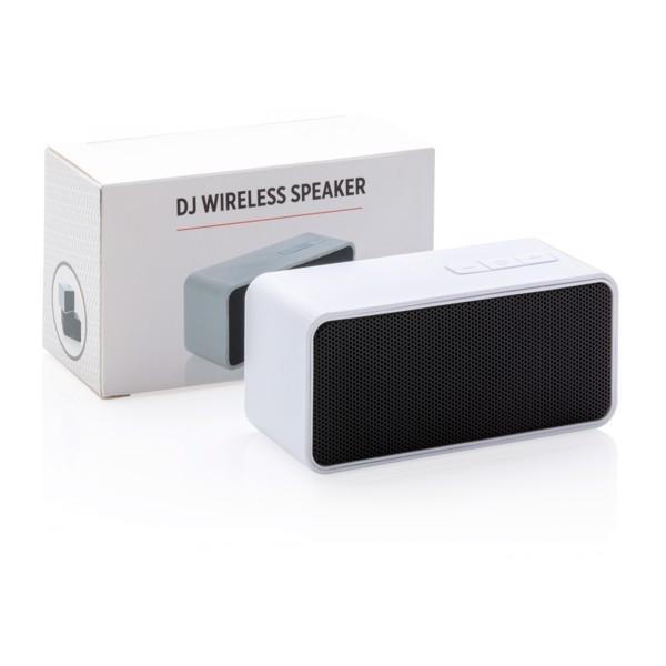 DJ vezeték nélküli hangszóró - Fehér