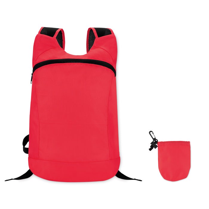 Sports rucksack in ripstop Joggy - Red
