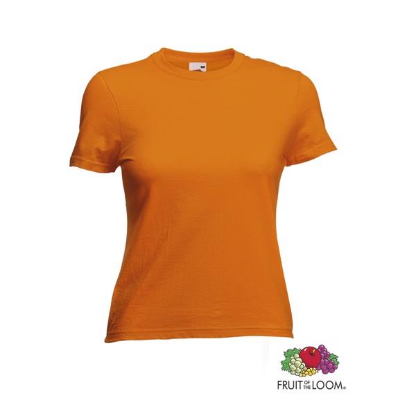 T-Shirt Mulher Côr Valueweight - Orange / XS
