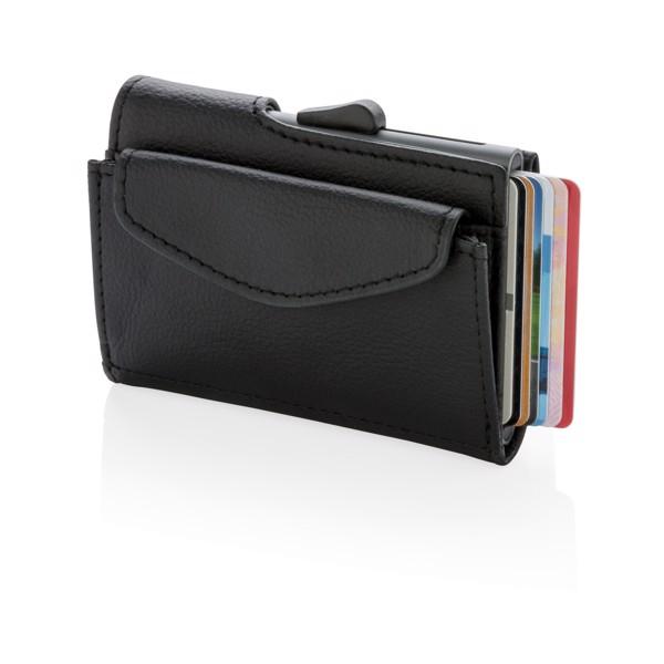 RFID pouzdro C-Secure na karty, bankovky a mince