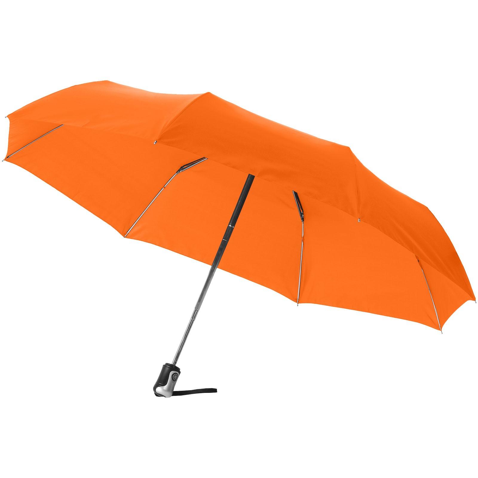 """21,5"""" deštník Alex s automatickým otvíráním/skládáním - 0ranžová"""