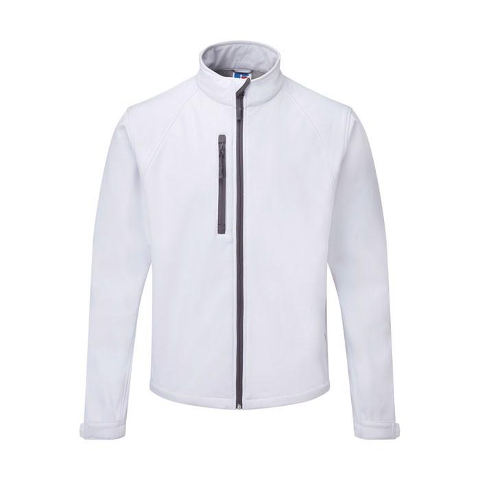 Men's Softshell 340 g/m2 Soft Shell Jacket R-140M-0 - White / XS