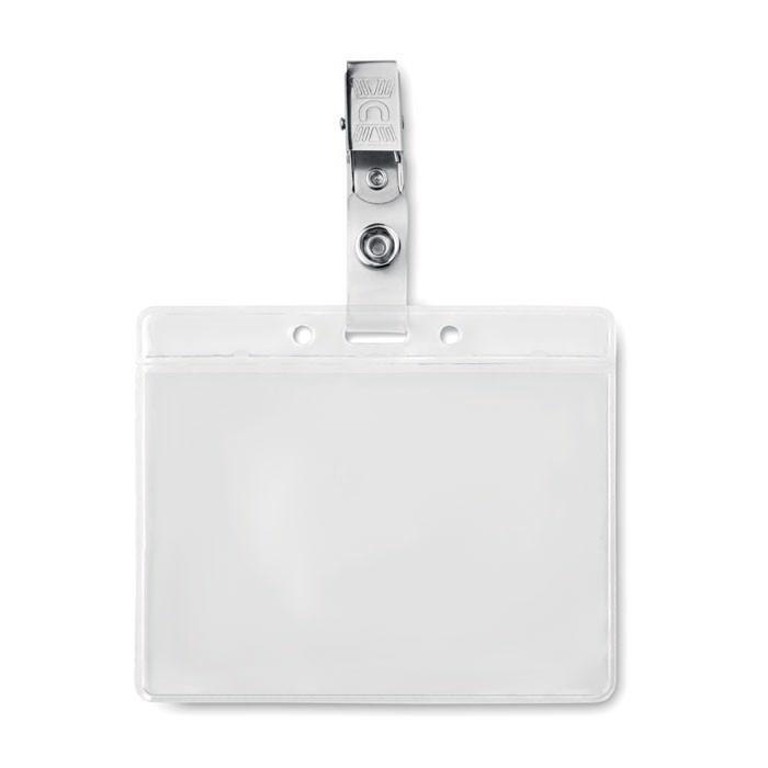 PVC badge holder Clipbadge