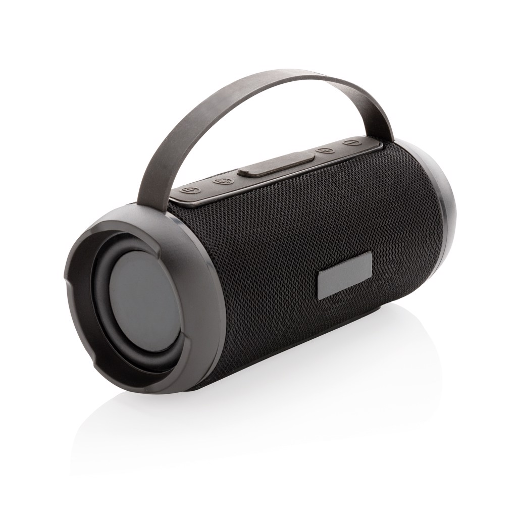 Soundboom vízálló 6W-os vezeték nélküli hangszóró - Fekete