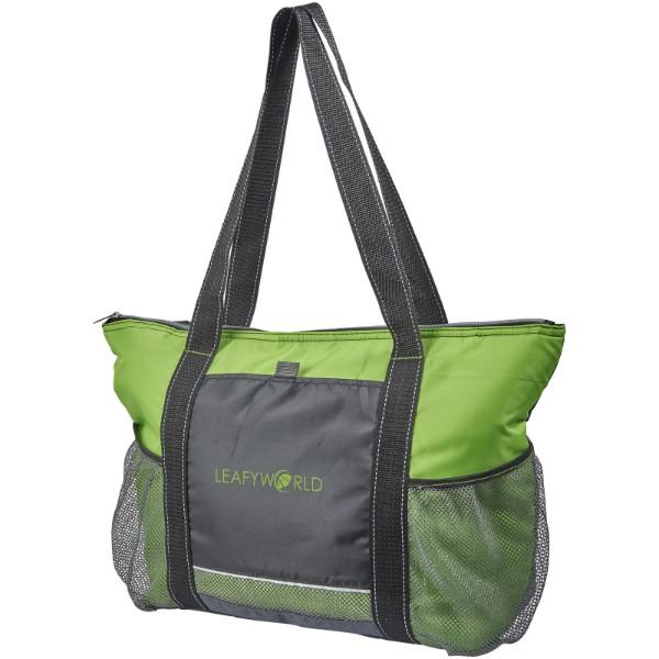 Falkenberg 30-can cooler tote bag - Lime