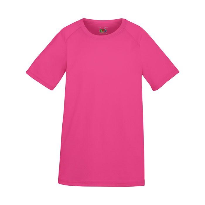 Kids T-Shirt Sports Kids Performance 61-013-0 - Fuchsia / XS