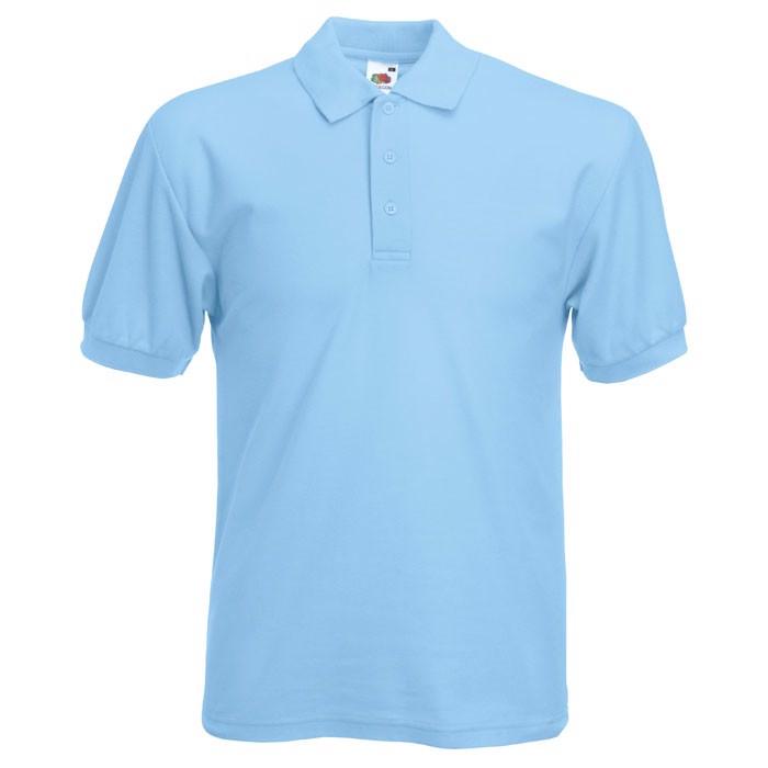 Polokošile piqué 65/35 Blended Polo 63-402-0 - Sky Blue / 3XL