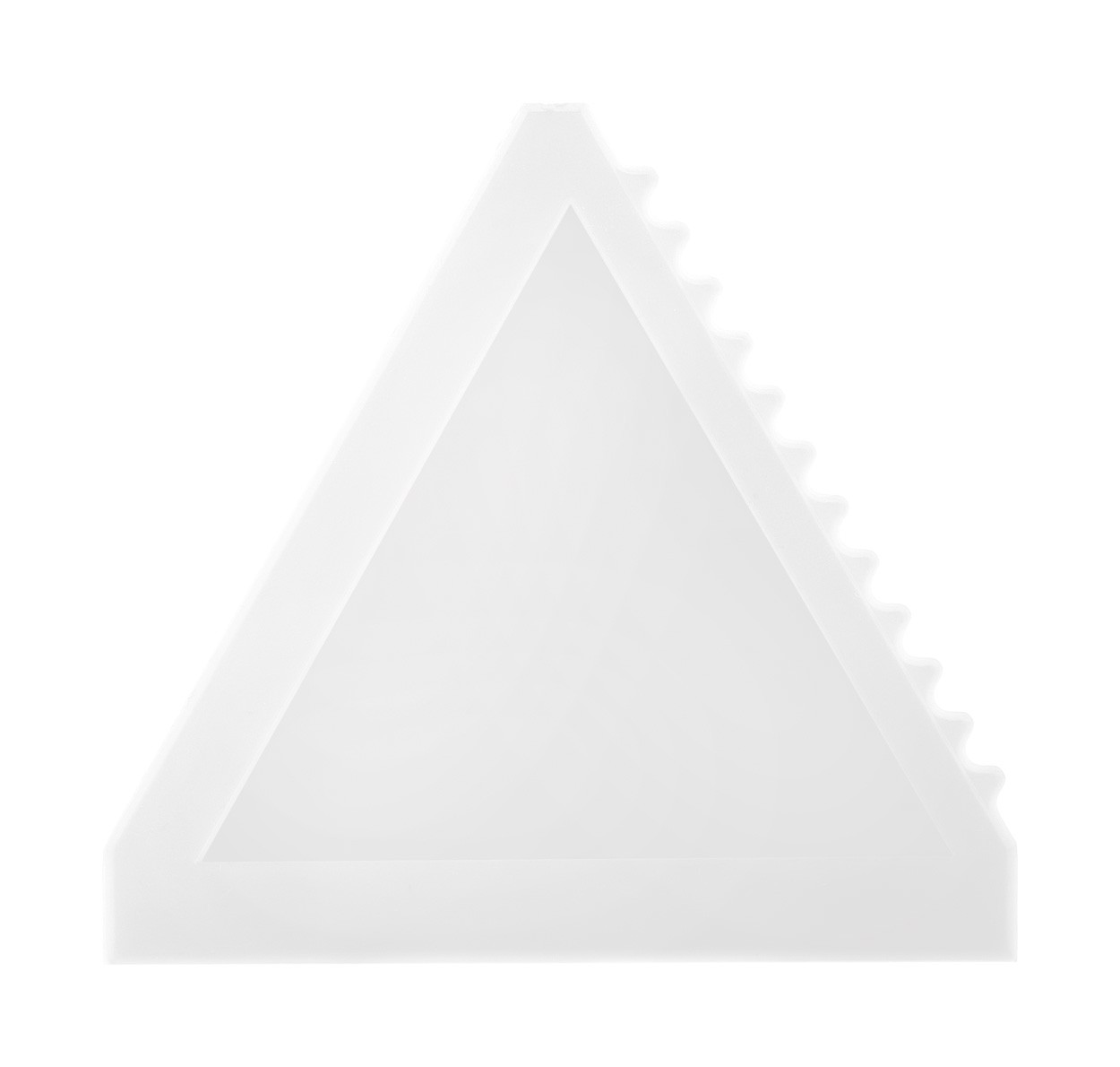 Ice Scraper Tri Scrap - White