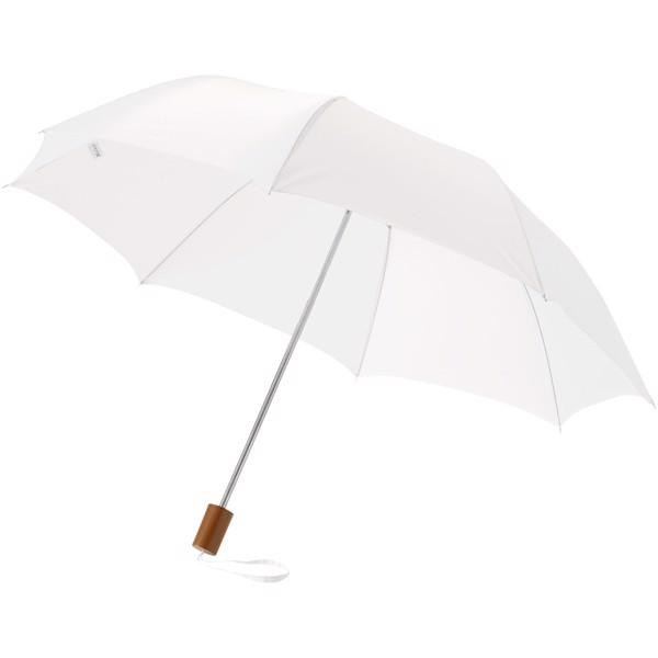 "Oho 20"" foldable umbrella - White"