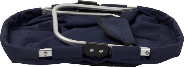 Polyester (600D) shopping bag - Blue