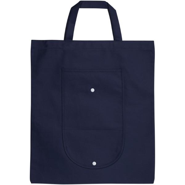 Skládaná netkaná taška - Navy
