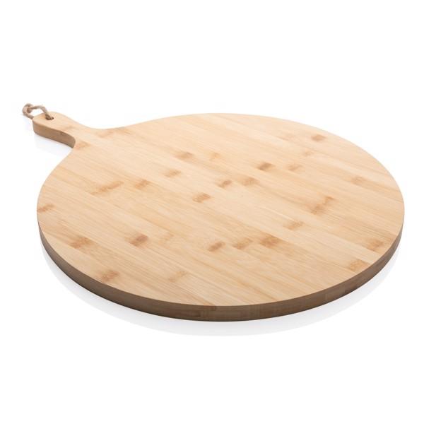 Kulatá servírovací deska z bambusu Ukiyo