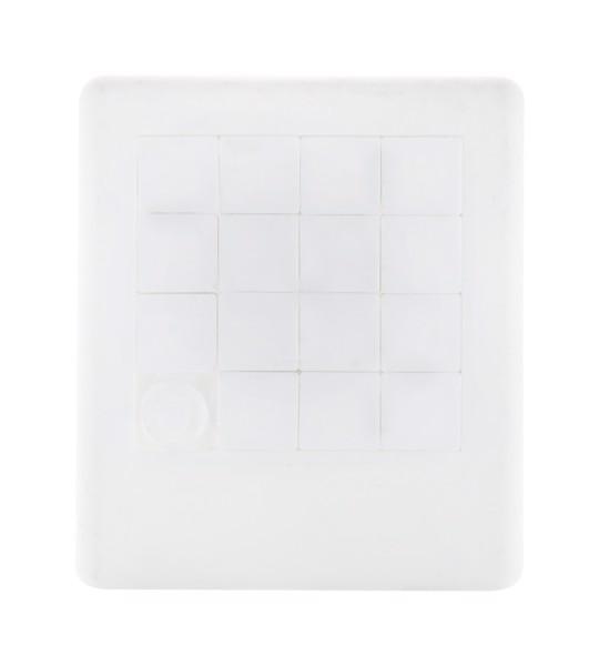 Schiebe-Puzzle Melanie - Weiß