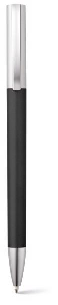 ELBE. Kuličkové pero s kovovým klipem - Černá