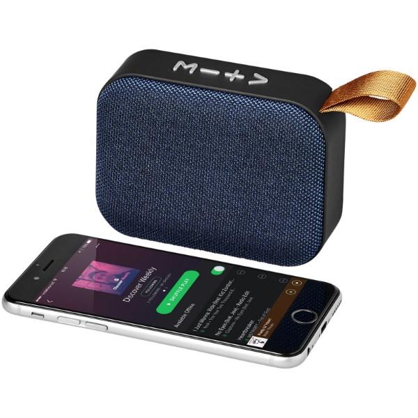 Látkový Bluetooth® reproduktor Fashion - Světle modrá