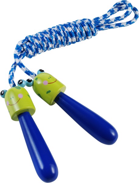Cotton skipping rope - Cobalt Blue