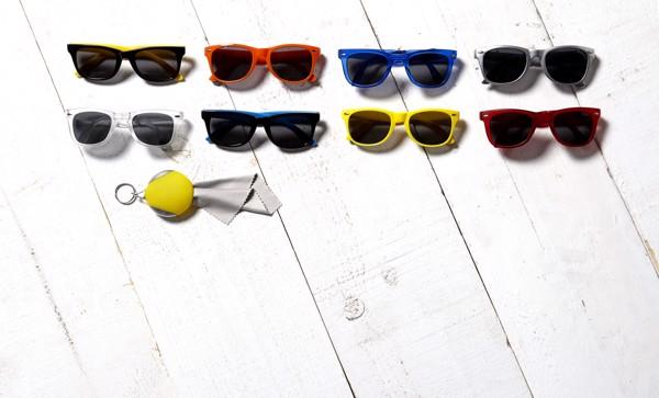 PC and PVC sunglasses - Purple