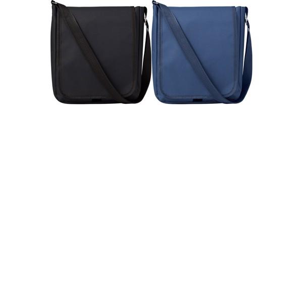 Polyester (190T + 600D) shoulder bag - Blue