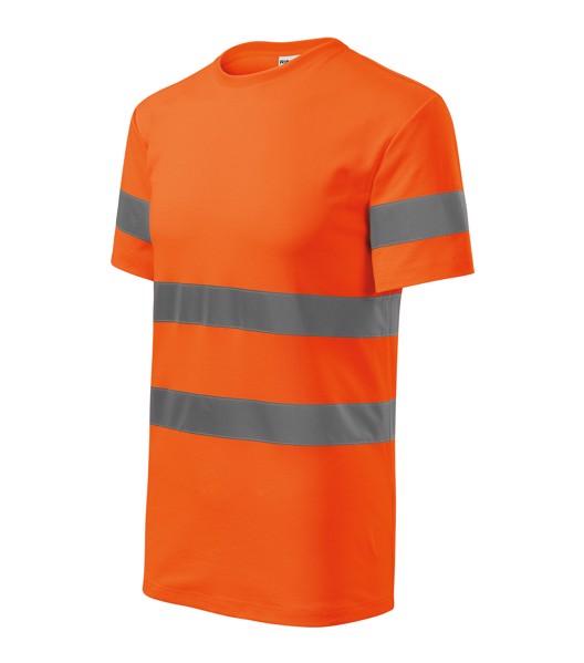 Tričko unisex Rimeck HV Protect - Fluorescenční Oranžová / XL