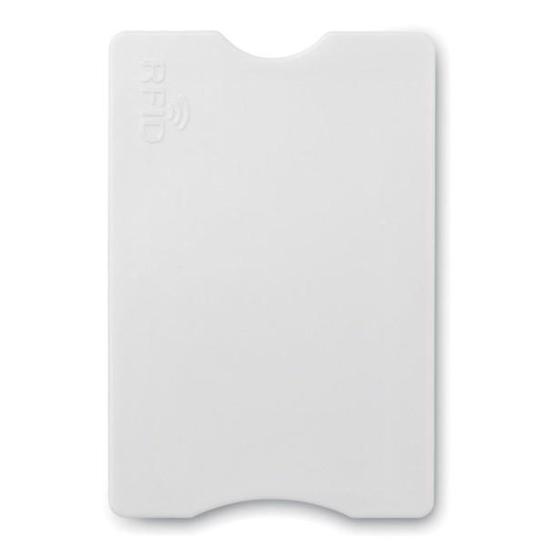 Protector tarjetas crédito - blanco