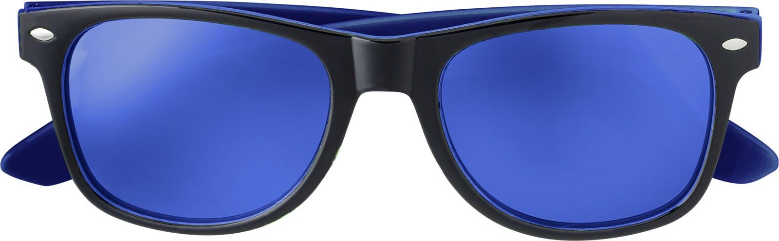 Acrylic sunglasses - Cobalt Blue