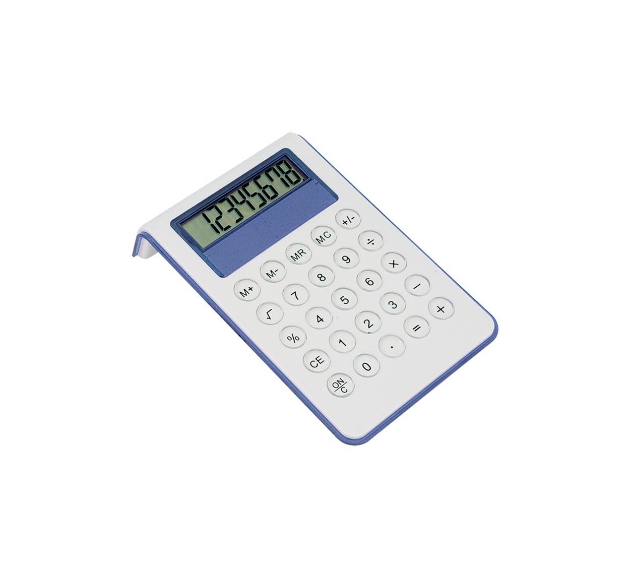 Kalkulačka Myd - Modrá / Bílá