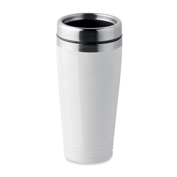 Double wall travel cup Rodeo Colour - White
