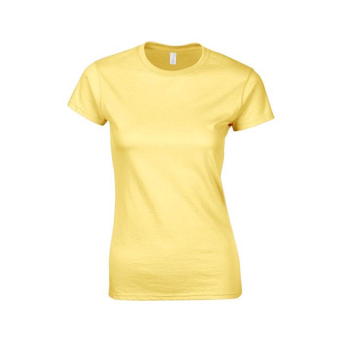 Ladies t-shirt 150 g/m² Lady-Fit Ring Spun 64000L - Daisy Yellow / XXL