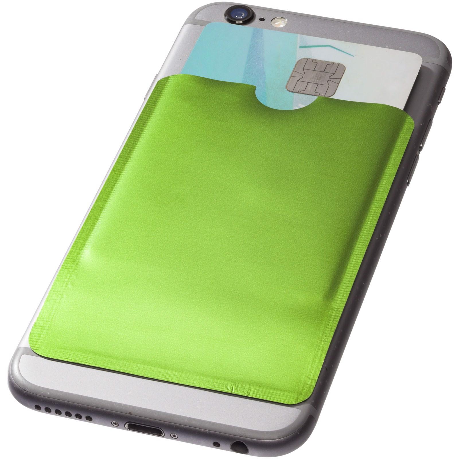Exeter RFID Smartphone Kartenhülle - Limone