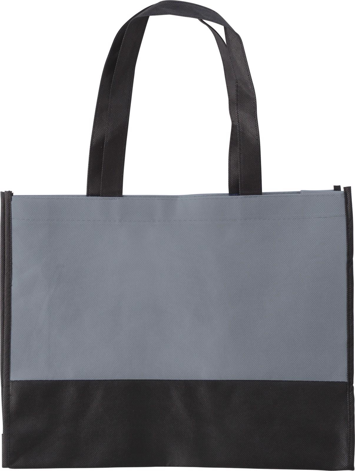 Nonwoven (80 gr/m²) shopping bag - Grey