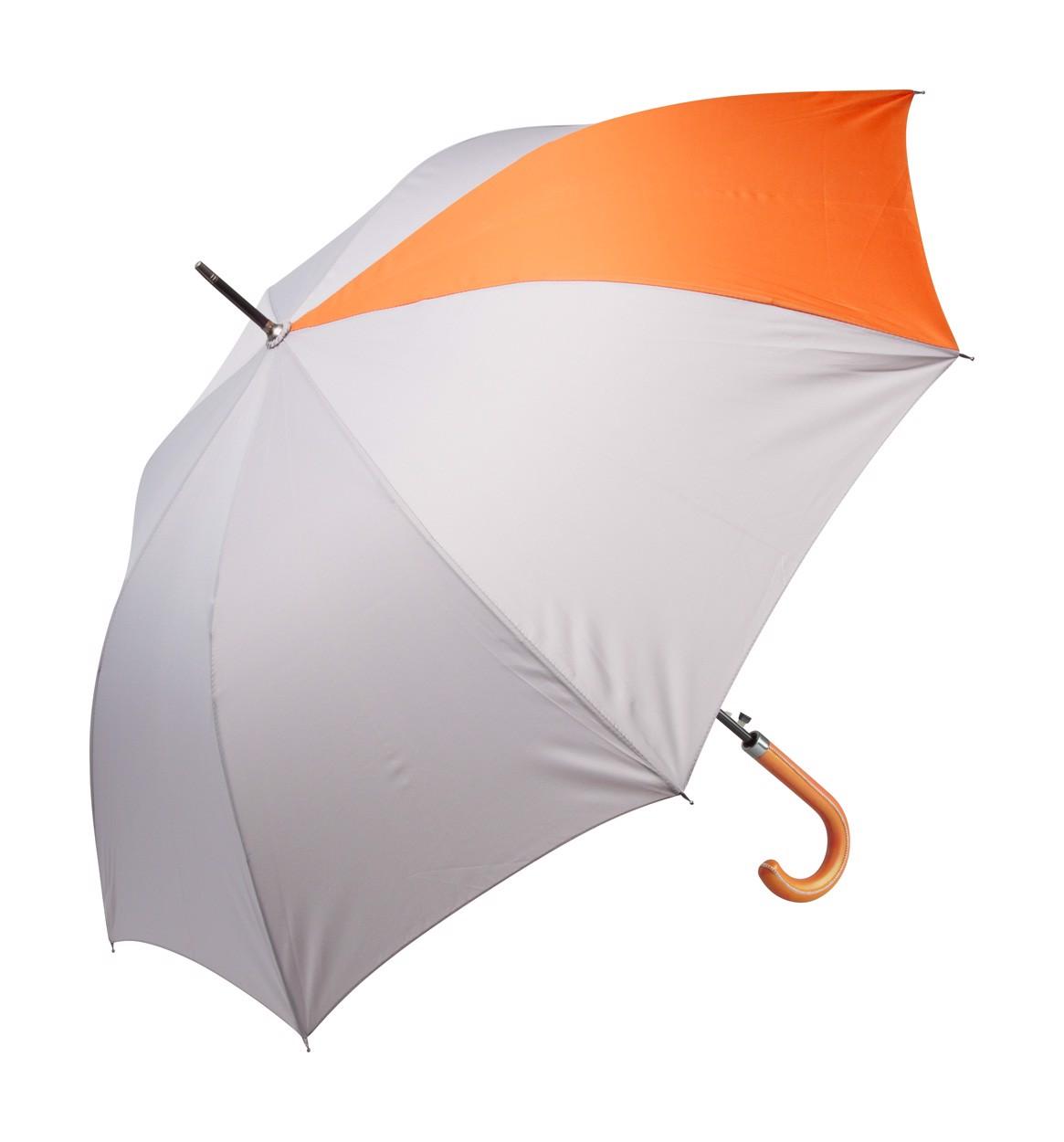Deštník Stratus - Šedá / Oranžová