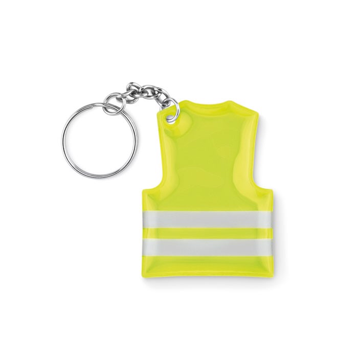 Keyring with reflecting vest Visible Ring