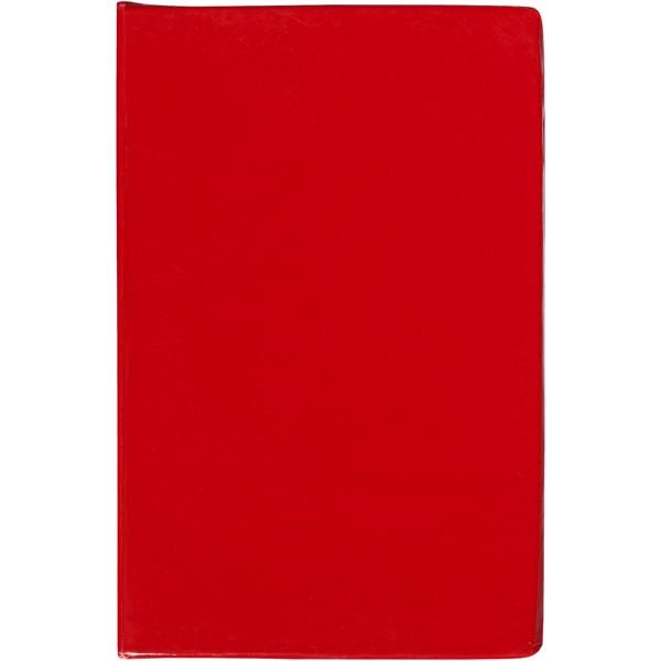 Samolepicí bločky Storm - Červená s efektem námrazy