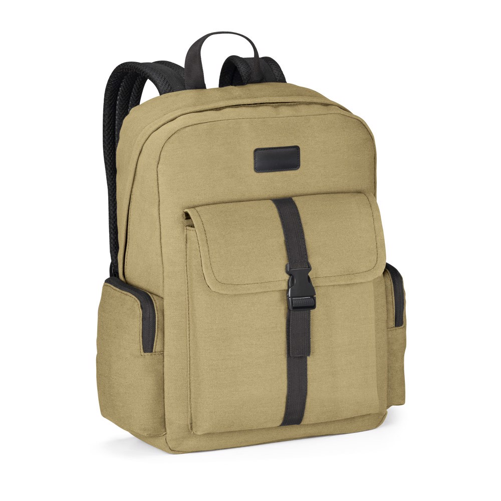 ADVENTURE. Laptop backpack 15'6'' - Light Brown