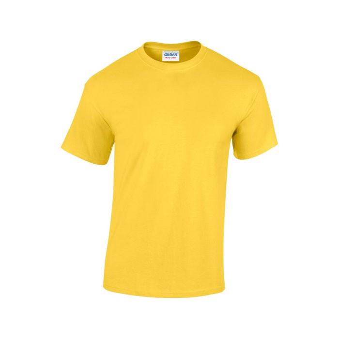 Tlusté tričko 185 g/m² Heavy T-Shirt 5000 - Daisy Yellow / S