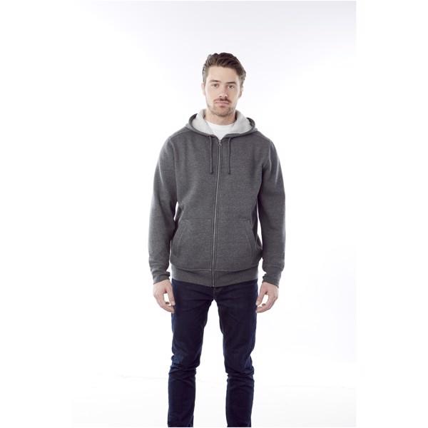 Cypress unisex full zip hoodie - Heather Grey / XL