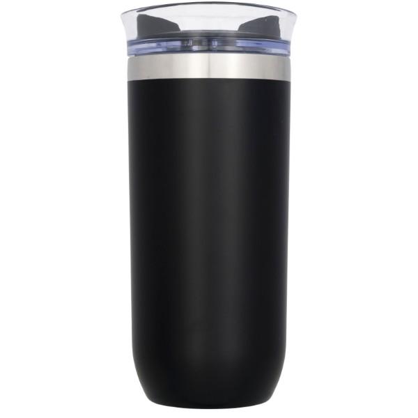 Twist 470 ml auslaufsicherer Kupfer-Vakuum Isolierbecher - Schwarz