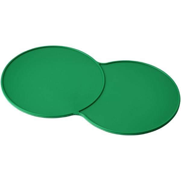 Sidekick plastic coaster - Green