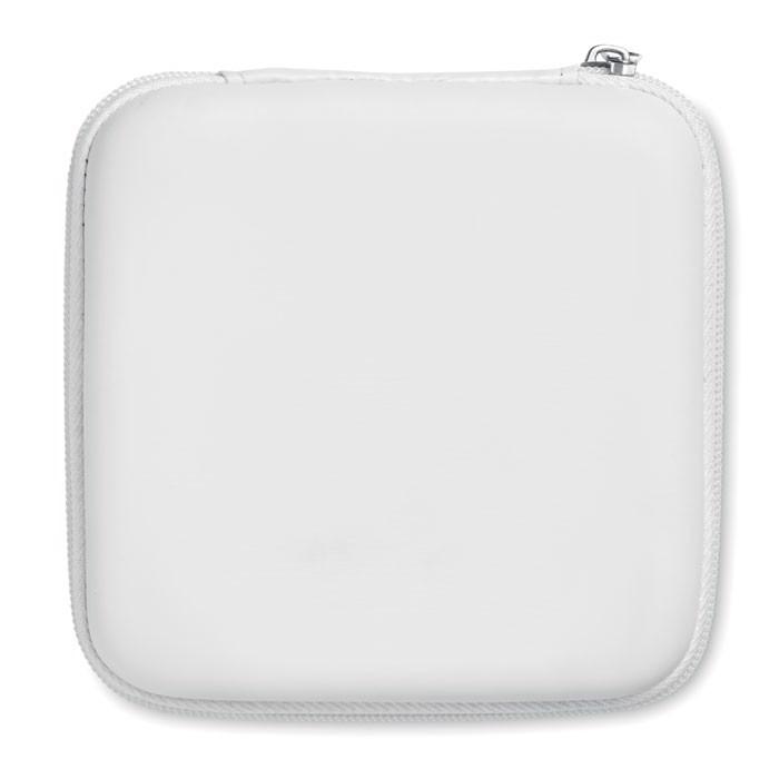 Akcesoria komputerowe w etui Powerset - biały