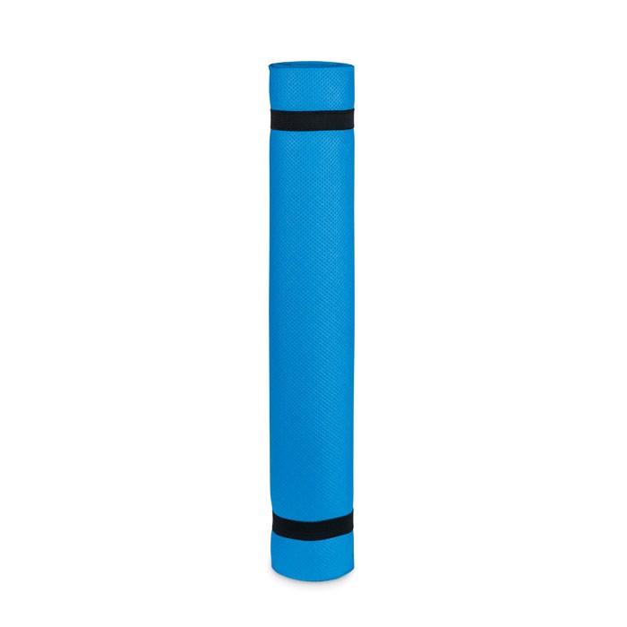 Yoga mat EVA 4.0 mm with pouch Yogi - Blue