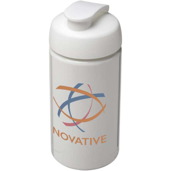 H2O Bop® 500 ml flip lid sport bottle - White